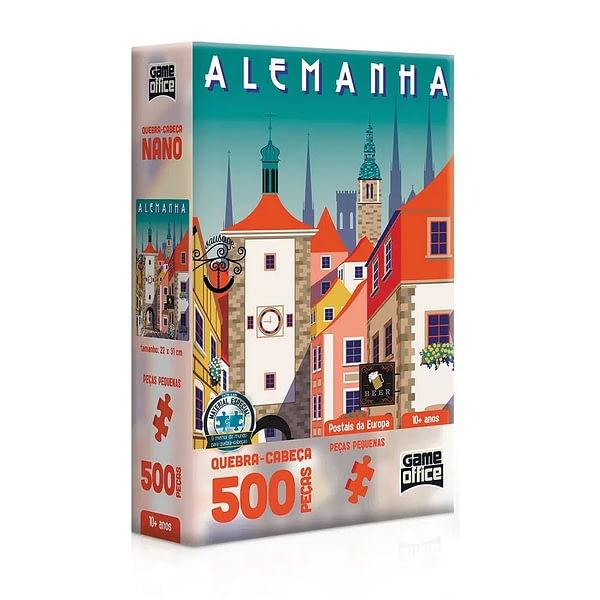Quebra-Cabeça Postais da Europa Alemanha 500 Peças