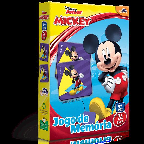 Jogo da Memória Mickey Disney Junior