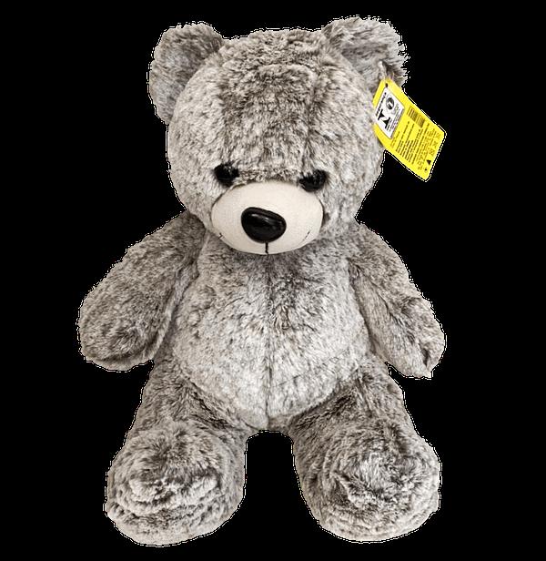 Urso de Pelucia Cinza Malhado
